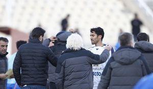 عکس/اشک های حسینی بعد از پایان مسابقه