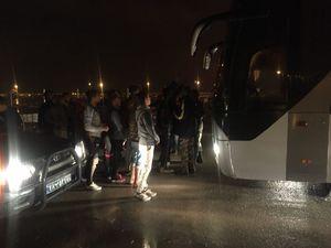 عکس/ اقدام عجیب هواداران فولاد بعد از بازی با استقلال