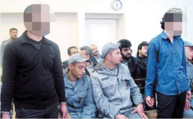 سارقان مسلح از مرگ فاصله گرفتند +عکس
