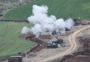توپخانههای ترکیه در حال بمباران عفرین