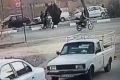فیلم/ تصادف وحشتناک در یزد