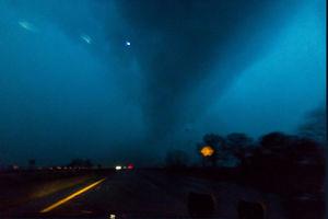 عکس/ گردباد مرگبار در آمریکا