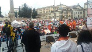 عکس/ تظاهرات هزاران ایتالیایی علیه نژادپرستی