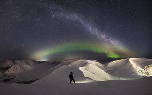 تصاویر زیبا از شفق قطبی در روسیه