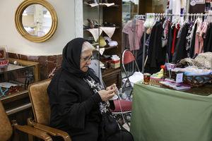 عکس/ بازارچه بهاره آسایشگاه خیریه کهریزک