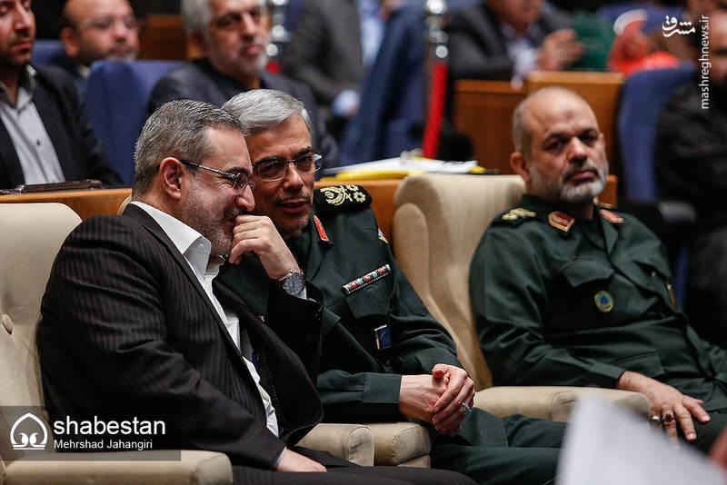 خوشوبش سرلشکر باقری و سید محمد بطحایی وزیر آموزش و پرورش