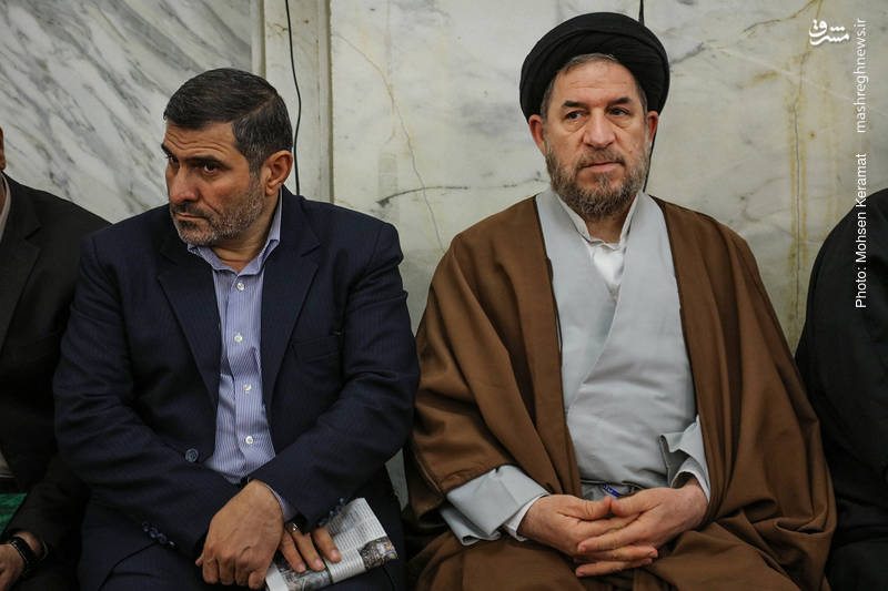 حجت الاسلام سید محمدرضا میرتاجالدینی در مراسم ختم شهدای حافظ امنیت ناجا