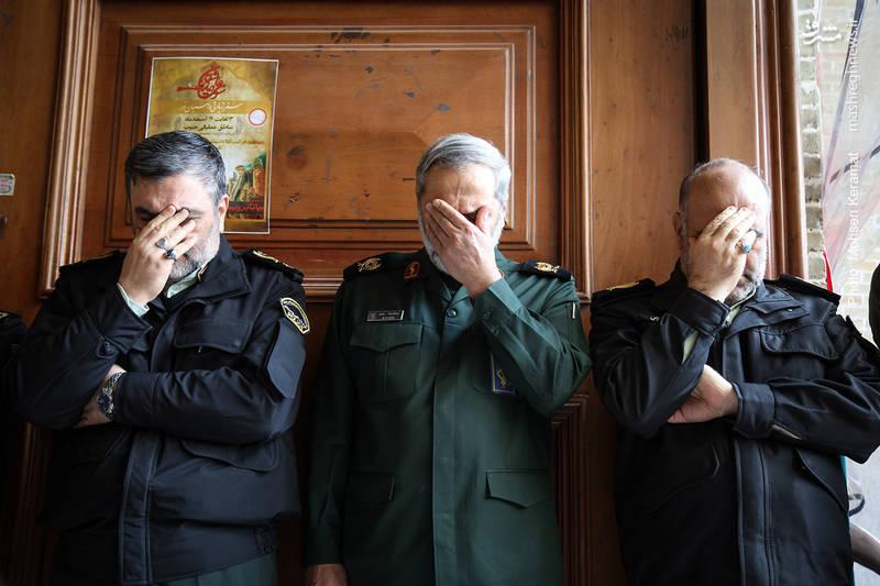 مراسم ختم شهدای حافظ امنیت ناجا
