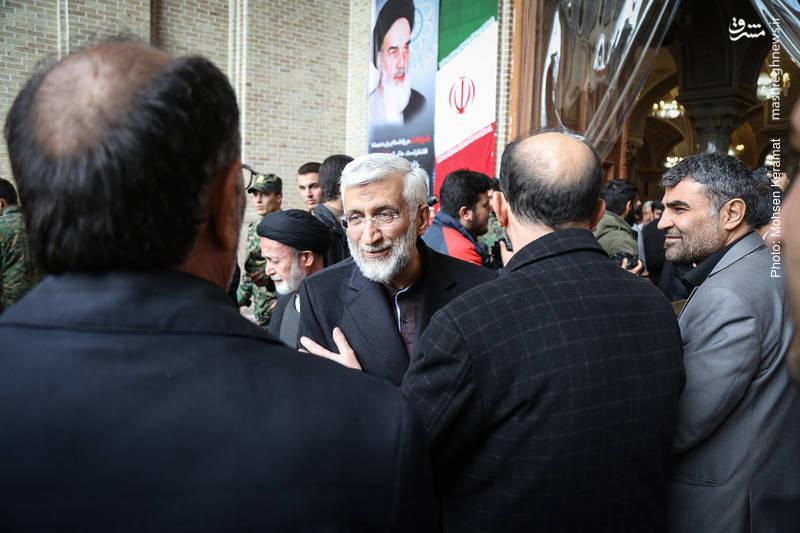 سعید جلیلی مراسم ختم شهدای حافظ امنیت ناجا