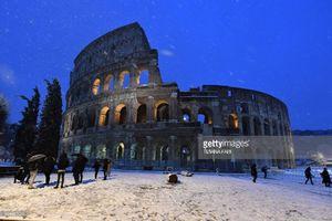 عکس/ بارش سنگین برف در ایتالیا