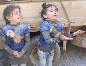دلسوزی طرفداران تروریستها در غوطه شرقی با تصاویر جعلی + عکس