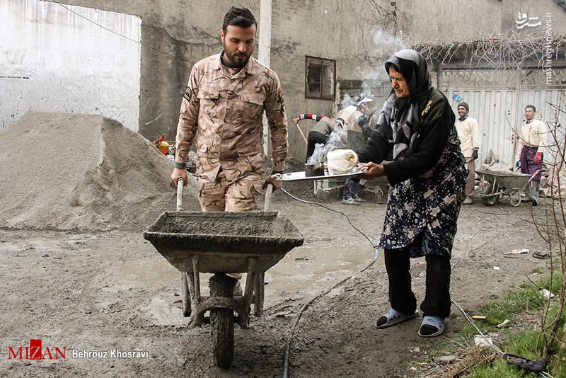عکس/ خدمات بسیج سازندگی در روستاهای مازندران