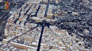 عکس/ ایتالیا سفیدپوش را از بالا ببینید