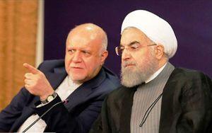 روحانی: در تولید بنزین خودکفا شدیم/ زنگنه: دروغ گفتند که خود کفا شدیم+ سند