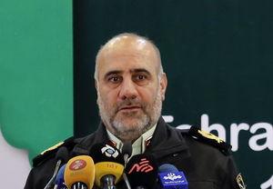 واکنش رییس پلیس تهران به برخورد یک مامور با دختر کشفحجاب کرده