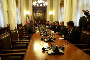 عکس/ دیدار ظریف با رئیس پارلمان صربستان
