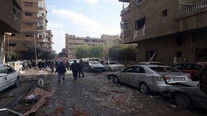 حمله تروریستهای به گذرگاه امن در غوطه شرقی