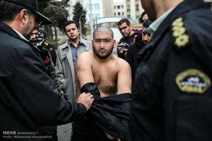 عکس/ دستگیری اراذلواوباش تهرانی