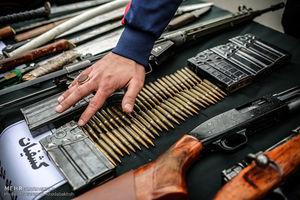 عکس/ سلاحهای کشف شده از اراذل پایتخت