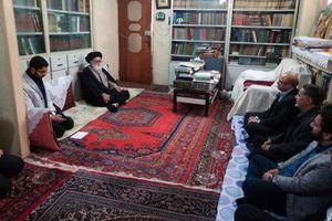 عکس/ دیدار قالیباف و نقویحسینی با امام جمعه ورامین