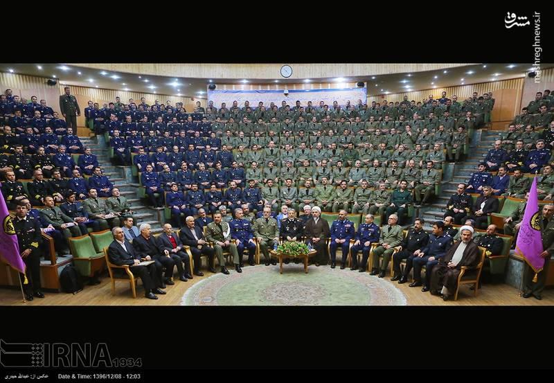 مراسم دانش آموختگی دانشجویان دانشگاه فرماندهی و ستاد ارتش (دافوس)