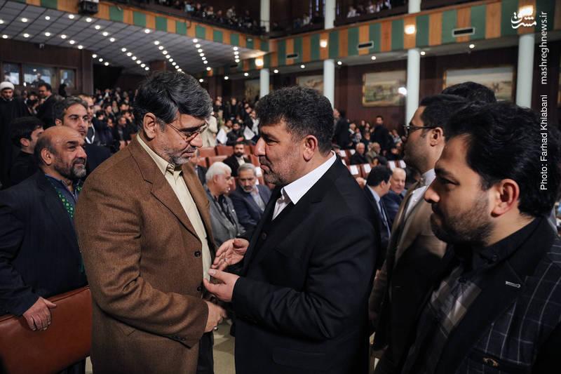 سعید حدادیان و رضا سراج