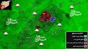 مذاکره تروریستها برای غوطه شرقی دمشق +فیلم، عکس و نقشه میدانی