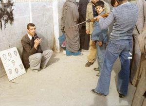 عکس/ تفریح مردم با عکس شاه پهلوی