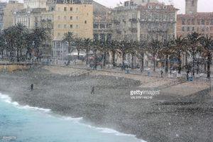 عکس/ 4 کشته بر اثر سرمای شدید در فرانسه