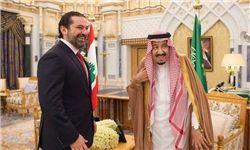 دیدار پادشاه عربستان و سعد الحریری در ریاض