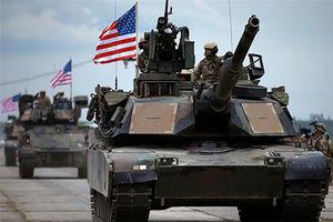 فیلم/ کاروان نظامی آمریکا در بیت المقدس!