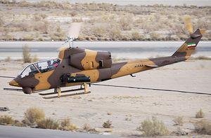 نسل مدرنتر موشک جنگندههای ایرانی روی بالگردهای رزمی سپاه/ توپ «کبری» توپتر شد +عکس