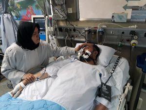 فیلم/ اوضاع بالینی بسیجی مجروح حادثه خیابان پاسداران