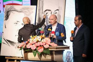 عکس/ حضور رئیس فیفا در جشن فوتبال ایران