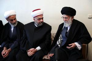 عکس/ دیدار وزیر اوقاف سوریه با رهبرانقلاب