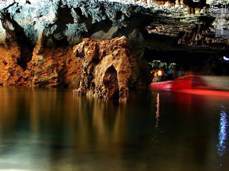 اهالی روستاهای اطراف غار به ویژه روستای علی صدر از این غار به عنوان سد بهرهبرداری میکردند و همین موضوع باعث شد ارتفاع سطح آب تا دهانهی ورودی غار بالا بیاید و امکان دسترسی به دورن غار را از بین ببرد.