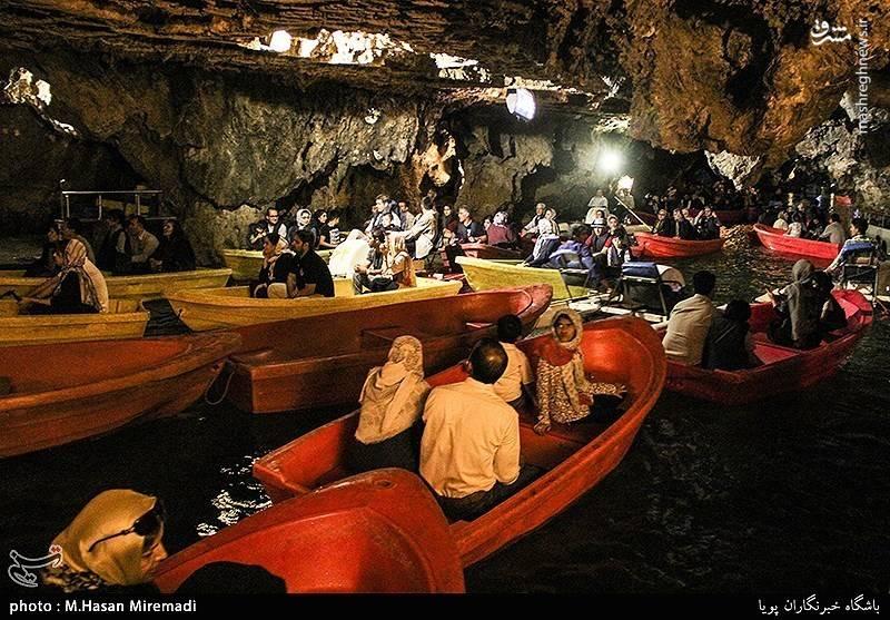بهترین راه برای رفتن به غار علیصدر جادهی جدید همدان لالجین به بیجار است.