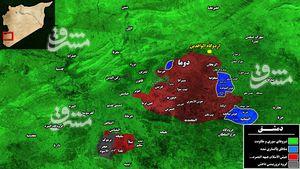 پیشروی مهم ارتش سوریه در غرب «دوما»