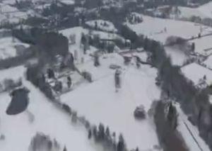 فیلم/ بحران برف و سرما در انگلیس