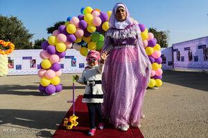 عکس/ برآورده شدن آرزوی مریم سه ساله