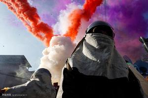 عکس/ جشنواره آتش بازی در تایوان
