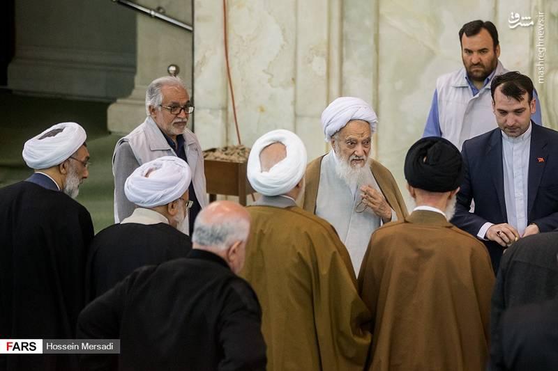 آیت الله موحدی کرمانی در نماز جمعه تهران