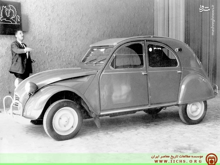 یک دستگاه اتومبیل ژیان در اولین سال تولید