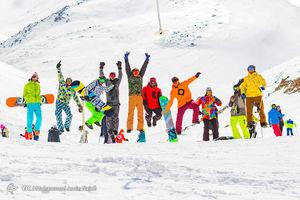 عکس/ تفریحات زمستانی در همدان