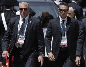 فیلم/ درگیری محافظان ترامپ با ماموران هتل ترامپ در پاناما