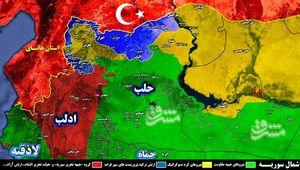درگیریهای سنگین میان کفتارهای تروریست در شمال سوریه/ «هیات تحریر الشام» موازنه قدرت را در استانهای حلب و ادلب به سود خود تغییر داد+ تصاویر و نقشه میدانی