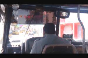 فیلم/ رانندهای که همه را سرکار گذاشت!