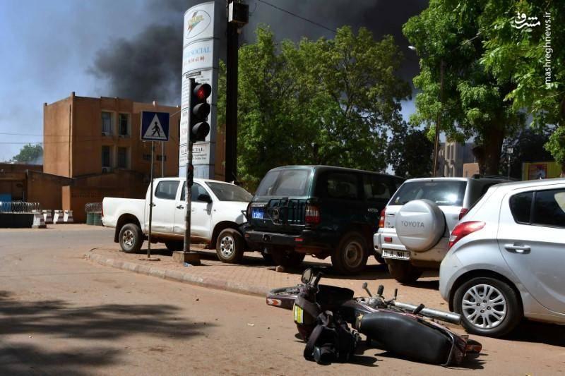 صبح روز جمعه صدای تیراندازی زیاد در نزدیکی سفارت فرانسه در بورکینافاسو شنیده شد
