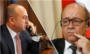 گفتوگوی تلفنی وزیران خارجه ترکیه و فرانسه درباره عملیات عفرین