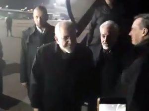 فیلم/استقبال سرد و دور از شأن از ظریف